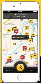 Taxi.de App
